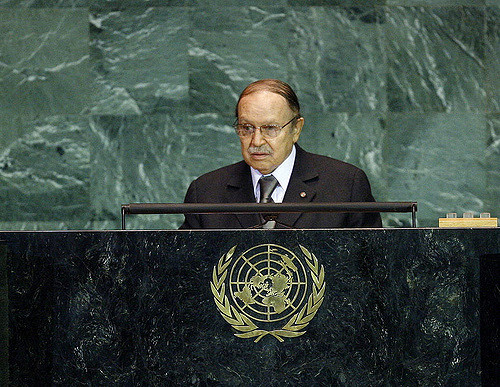 President of Algeria Addresses General Assembly