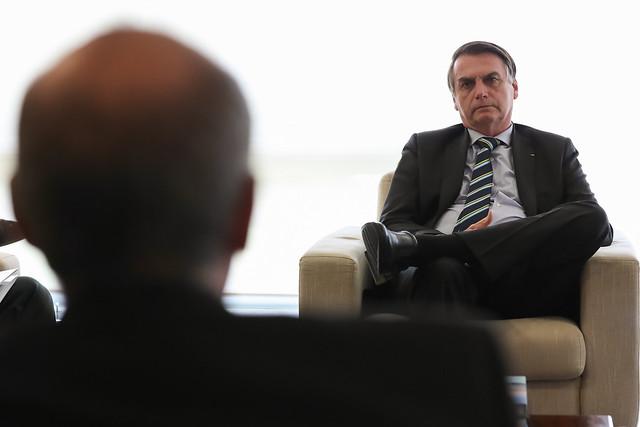 16/04/2019 Audiência com Ministro da Saúde e Presidente do Con