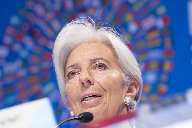SM19 - Press Briefing - IMF Managing Director Christine Lagarde