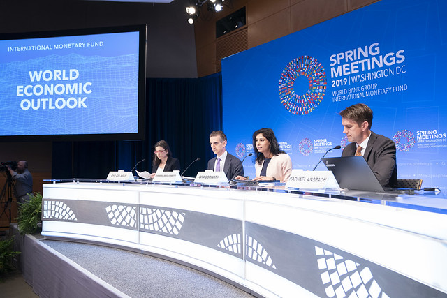 SM19 - Press Briefing - World Economic Outlook