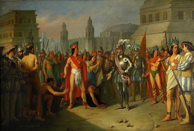 Prisión_de_Guatimocín,_último_emperador_de_Méjico_(Museo_de_Zaragoza)