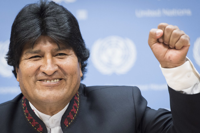 Press briefing by,  President of the Plurinational State of Bolivia