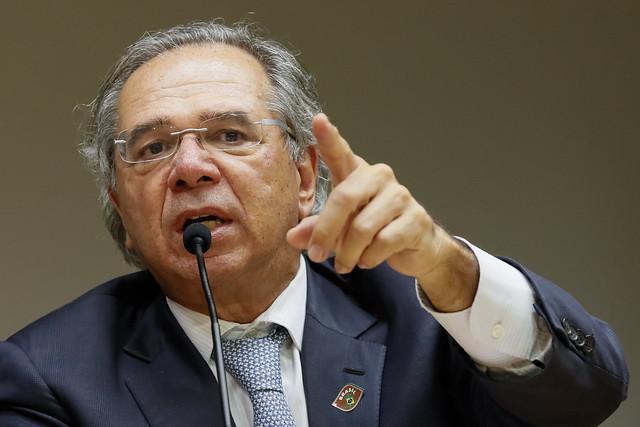 06/05/2019 Reunia?o com o Ministro da Economia, Paulo Guedes