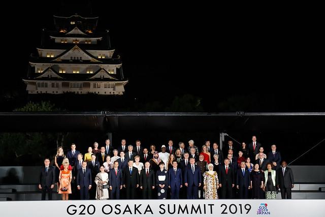 28/06/2019 Jantar em homenagem aos Líderes do G20