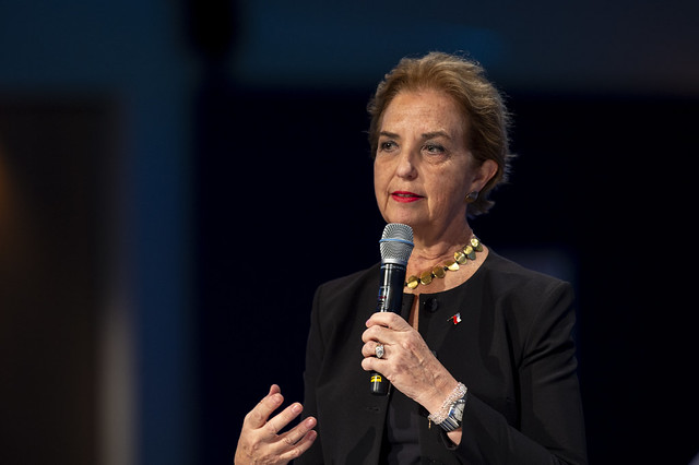 Gloria Hutt-Hesse emphasises urgency of user-focused connectivity