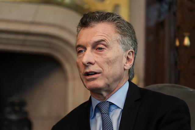 06/06/2019 Reunião com o senhor Mauricio Macri, Presidente da R