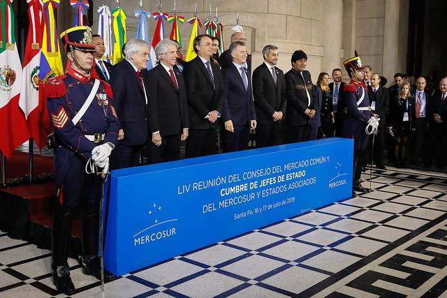 17/07/2019 Foto Oficial dos Chefes de Estado