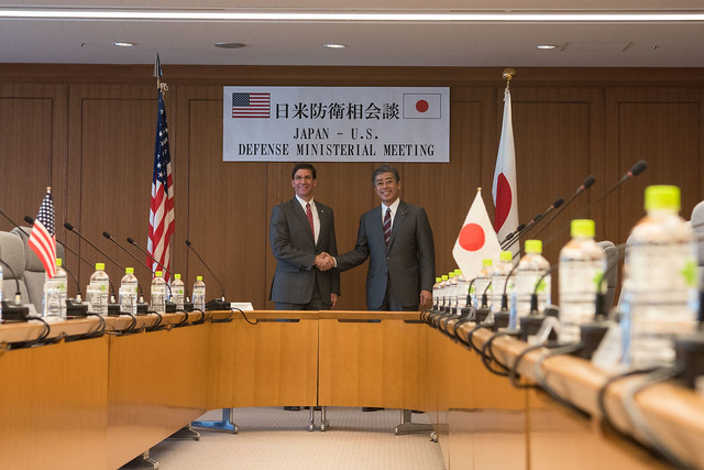 SD meets with Japanese Minister of Defense