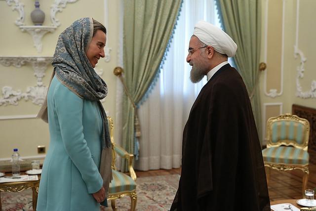 HRVP Mogherini In Iran