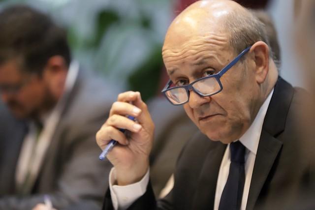 Reunião com o Ministro das Relações Exteriores da França Jean Yv
