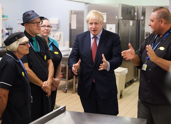 Prime Minister Conducts Tour of Torbay Hospital