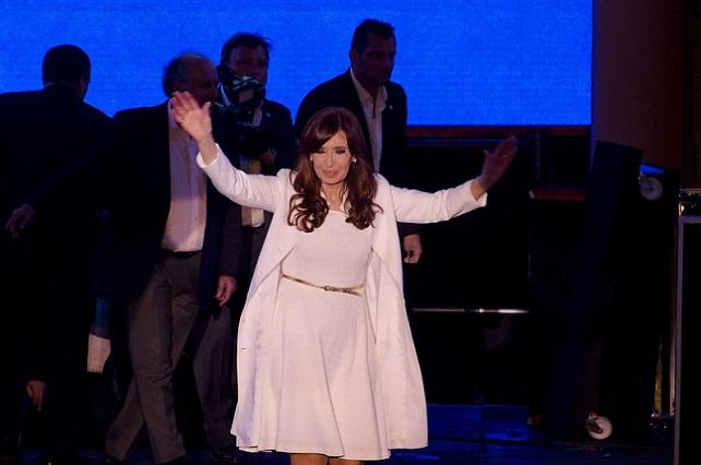 Cristina Kirchner en la fiesta Patria Popular 2014