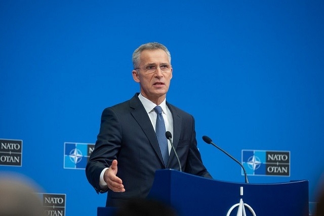 Meetings of the NATO Defence Ministers at NATO Headquarters in Brussels - Press Conference by NATO Secretary General