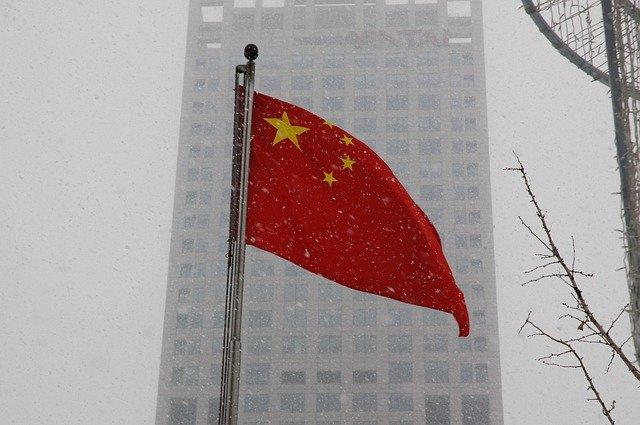 Nation China Symbol National Chinese Flag Asia
