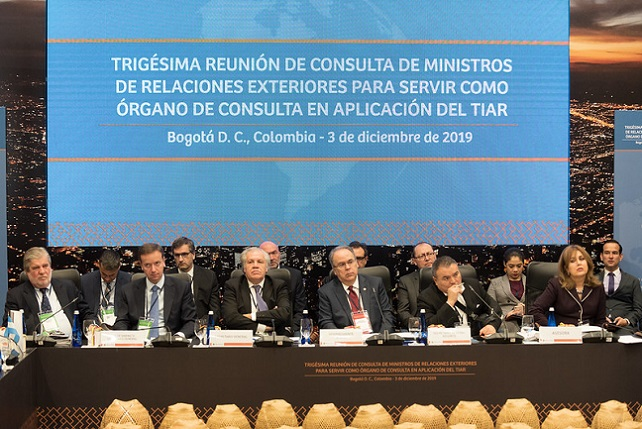 Meeting of Foreign Ministers of States Party to the Rio Treaty