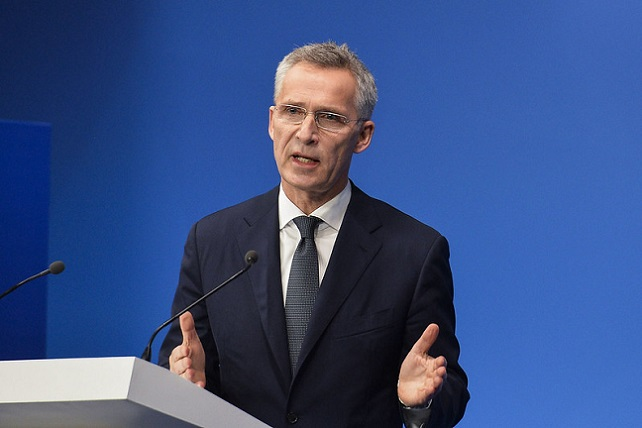 NATO Leaders Meeting, London - Press conference by the NATO Secretary General