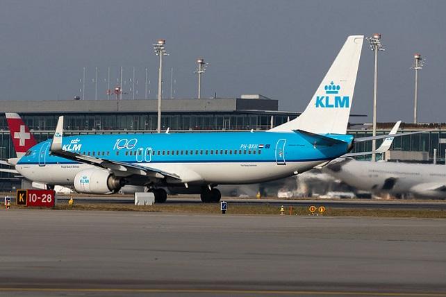 Flughafen Zürich: KLM (KL / KLM) |  Boeing 737-8K2 B738 | PH-BX