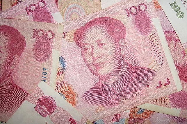 currency-notes-yuan-chinese-paper-money-money-bank-notes-100-mao